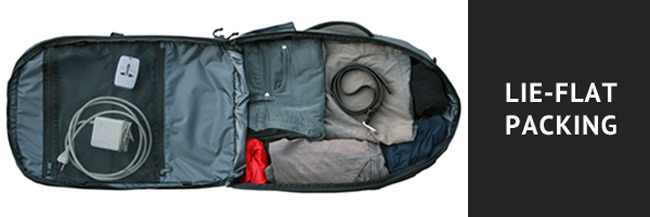 Inside Minaal ProTravel Carry-on travel bag backpack review