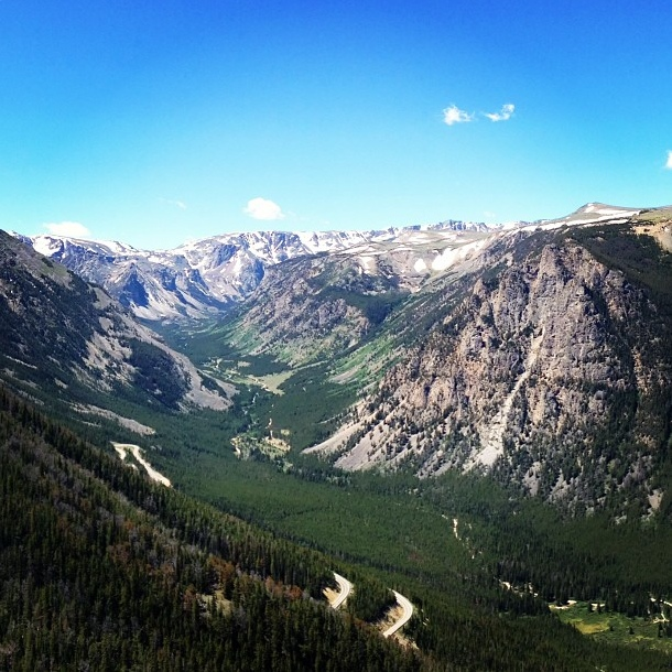 Tourism Montana MontanaMoment winner instagram picture - Rock Creek Valley at Dead Indian Pass