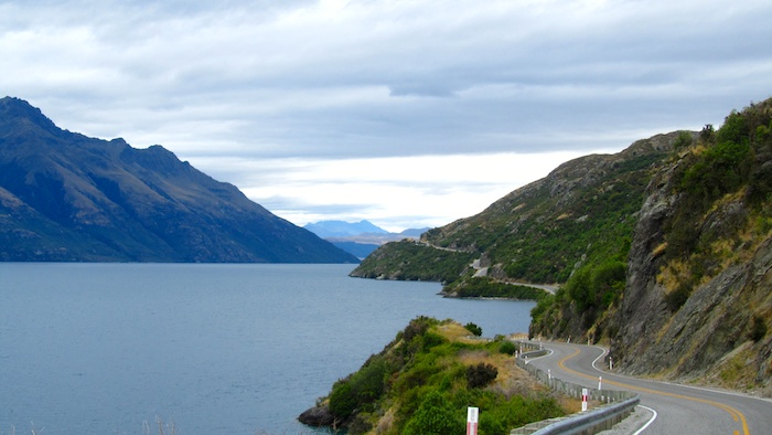 photo story Lake Wakatipu and Couchsurfing new zealand queenstown