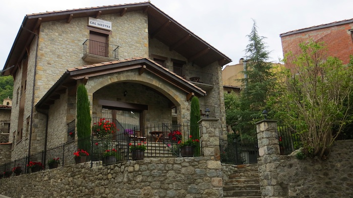 Cal Mestre in Vilallonga de Ter Costa Brava Spain Pyrenees Catalunya