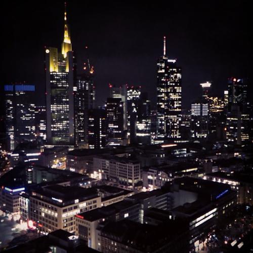 Euro beer run - Frankfurt NEXTOWER rooftop bar