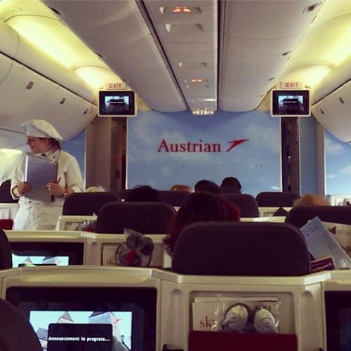 Europe beer run - Austrian airlines