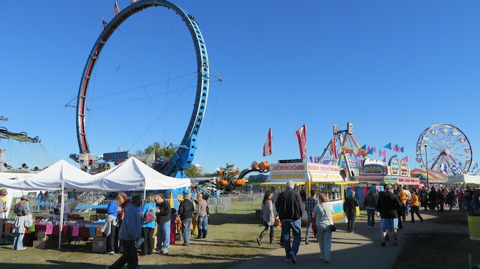 The rides at Tulsa Oktoberfest