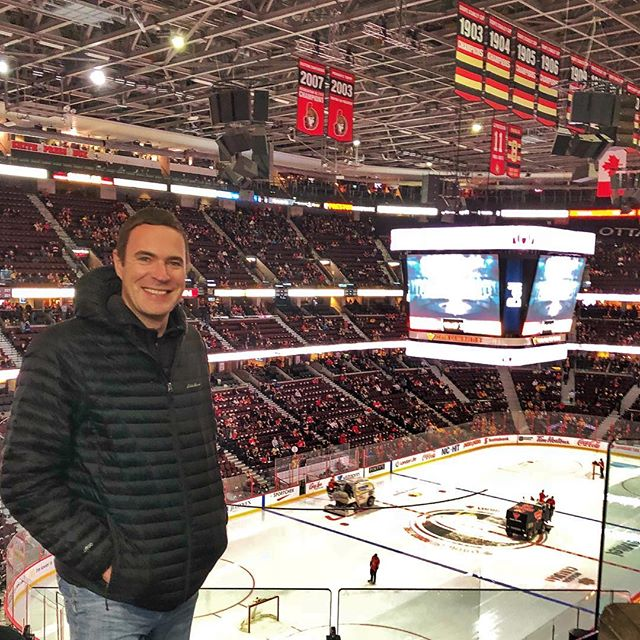 First NHL game for me in a long, long time. I've been a big fan while growing up back in Ukraine but lost interest when we moved to the US. Who knew that they have four refs now and 3-on-3 in over time?😅 #GoPreds!