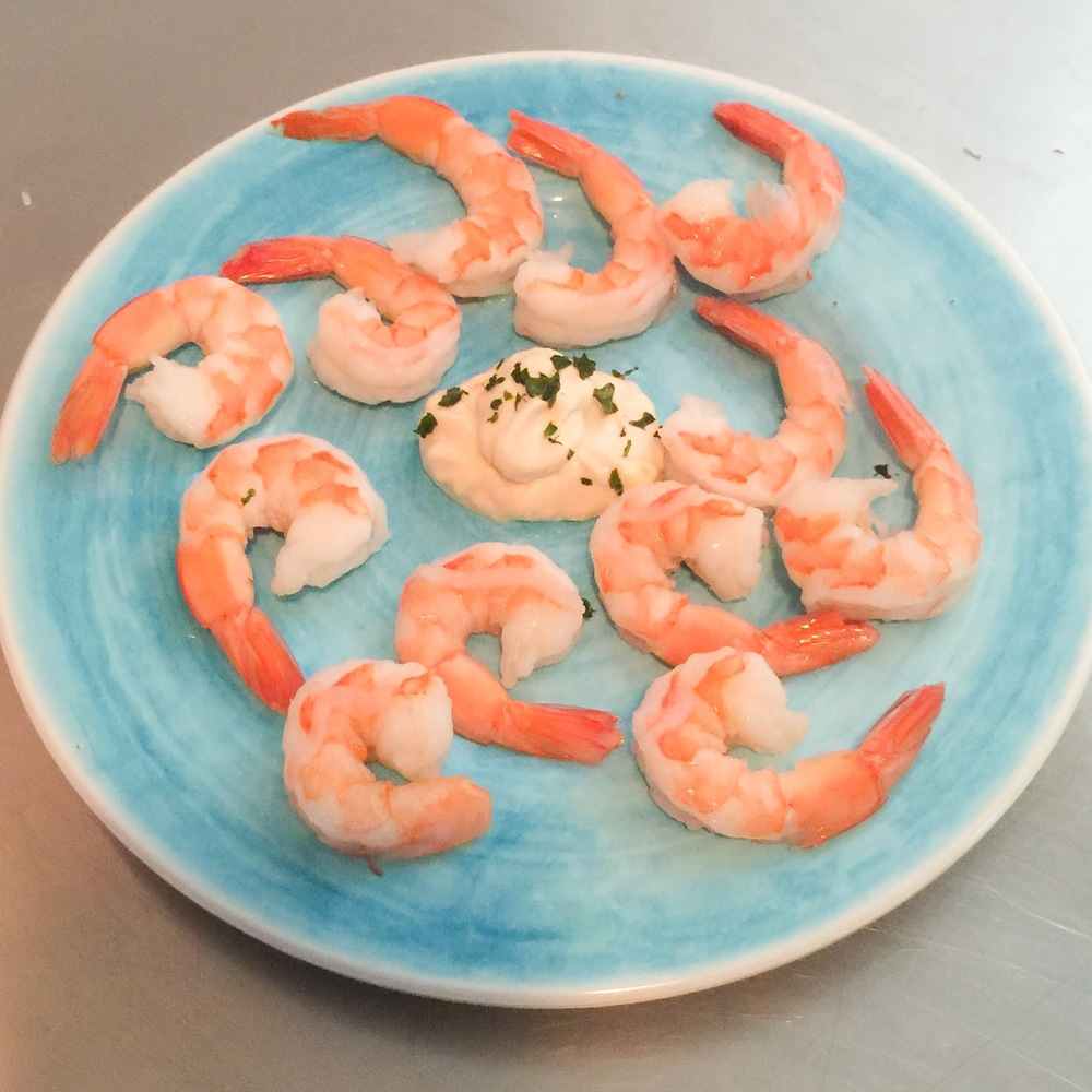 KETO SHRIMP COCKTAIL by Jen Fisch