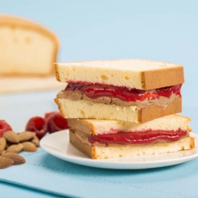 Quest Keto Almond Butter & Raspberry Jam Sandwich