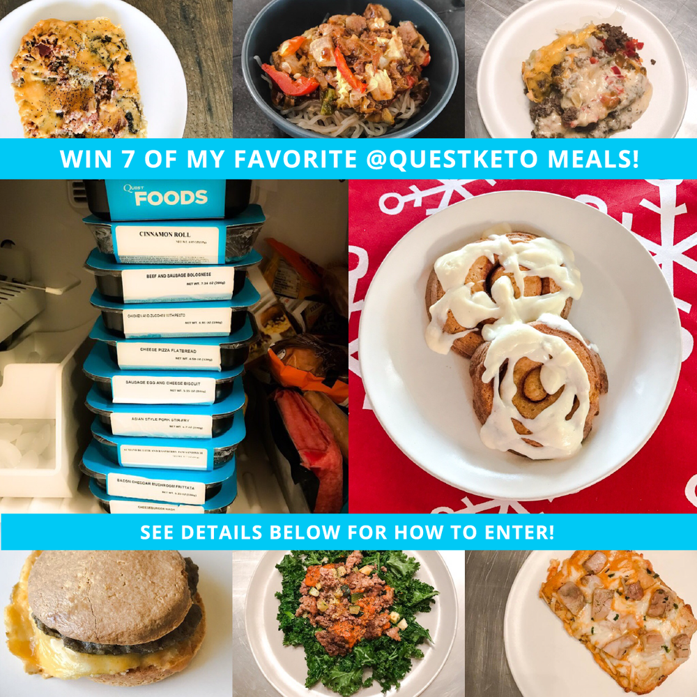 WIN ALL OF MY FAVORITE QUEST KETO MEALS!  by Jen Fisch via Keto In The City