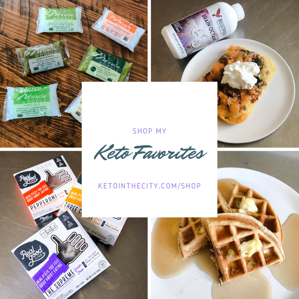Shop my Keto Favorite Things by Jen Fisch via Keto In The City