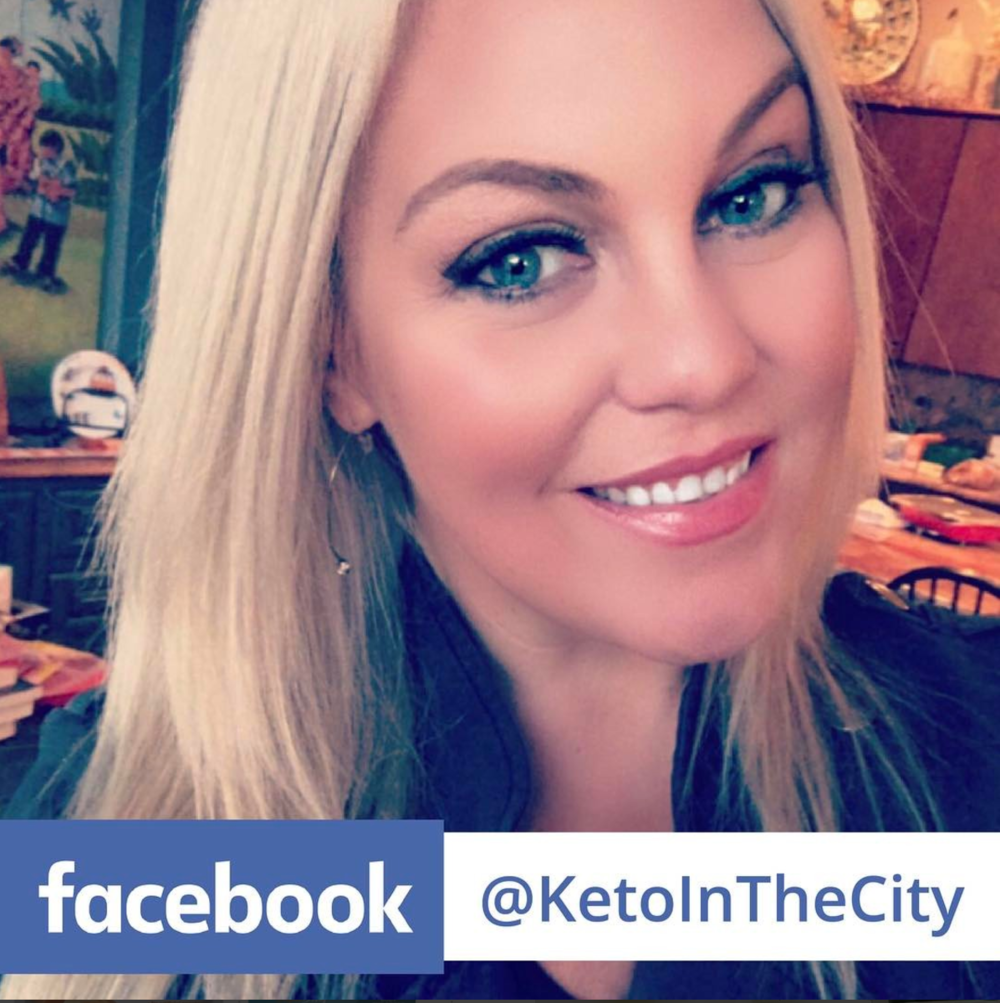 KETO IN THE CITY IS ON FACEBOOK! by Jen Fisch via Keto In The City