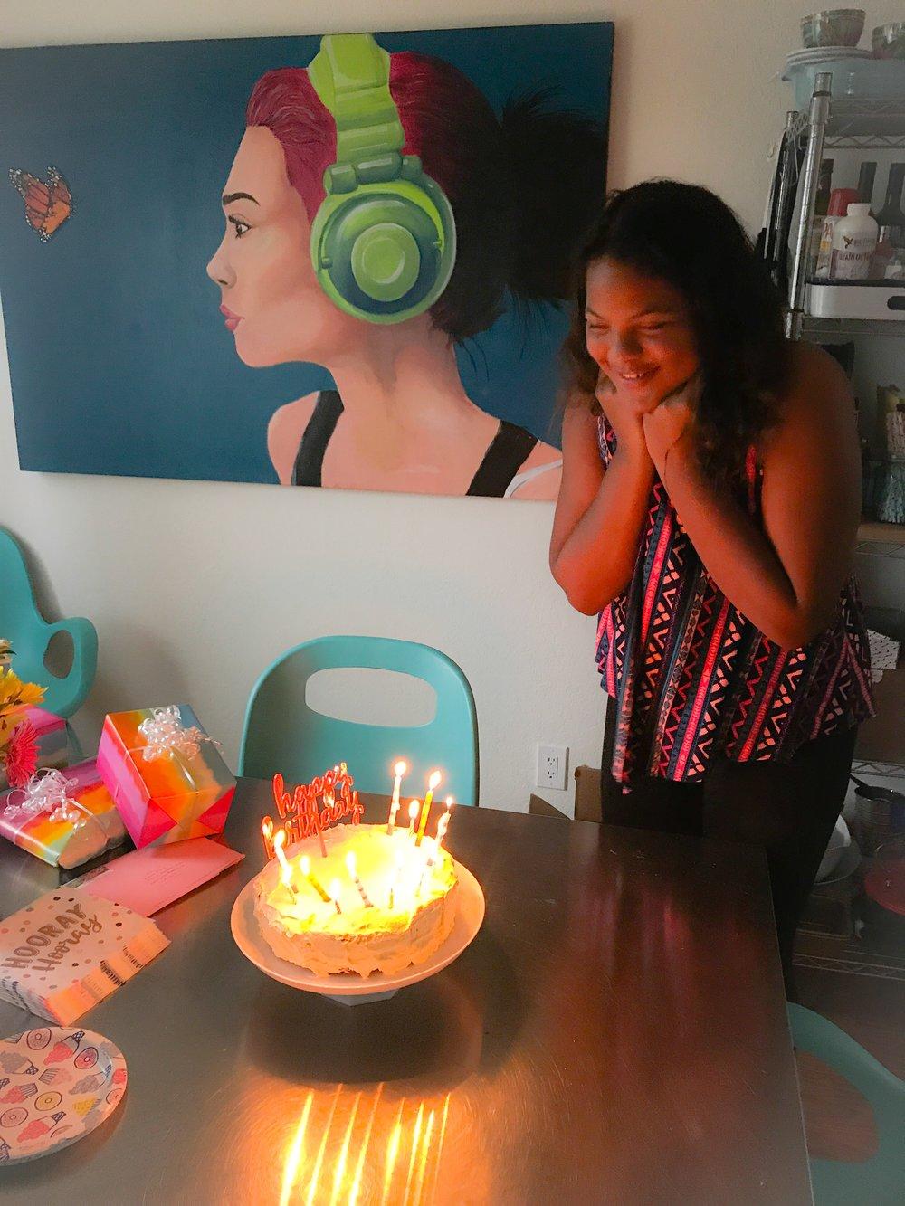 KETO RECIPE: KETO BIRTHDAY CAKE! by Jen Fisch via Keto In The City