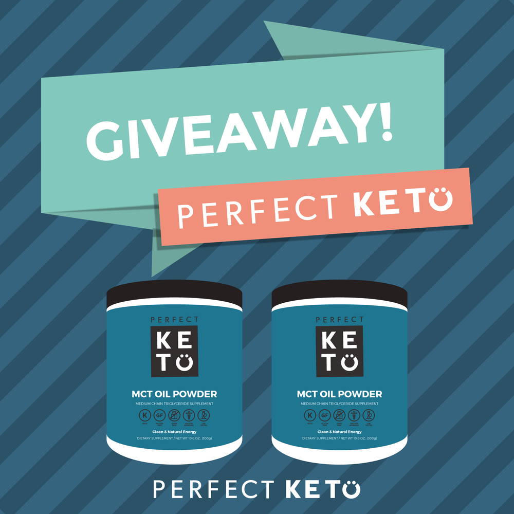 PERFECT KETO MCT OIL GIVEAWAY via Keto In The City