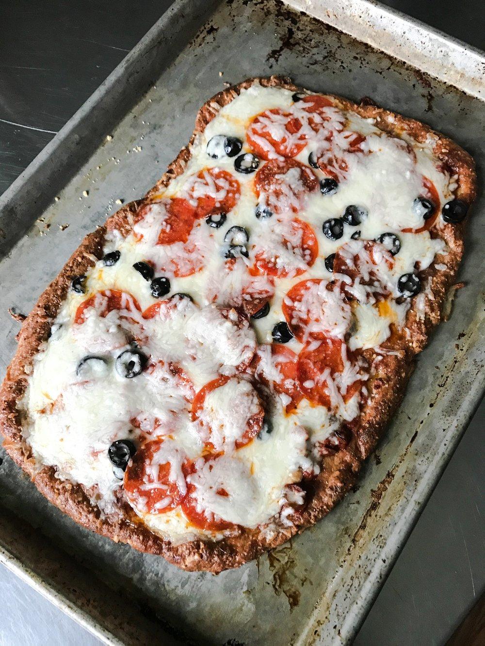 KETO PIZZA OPTIONS FAT HEAD PIZZA via Keto In The City