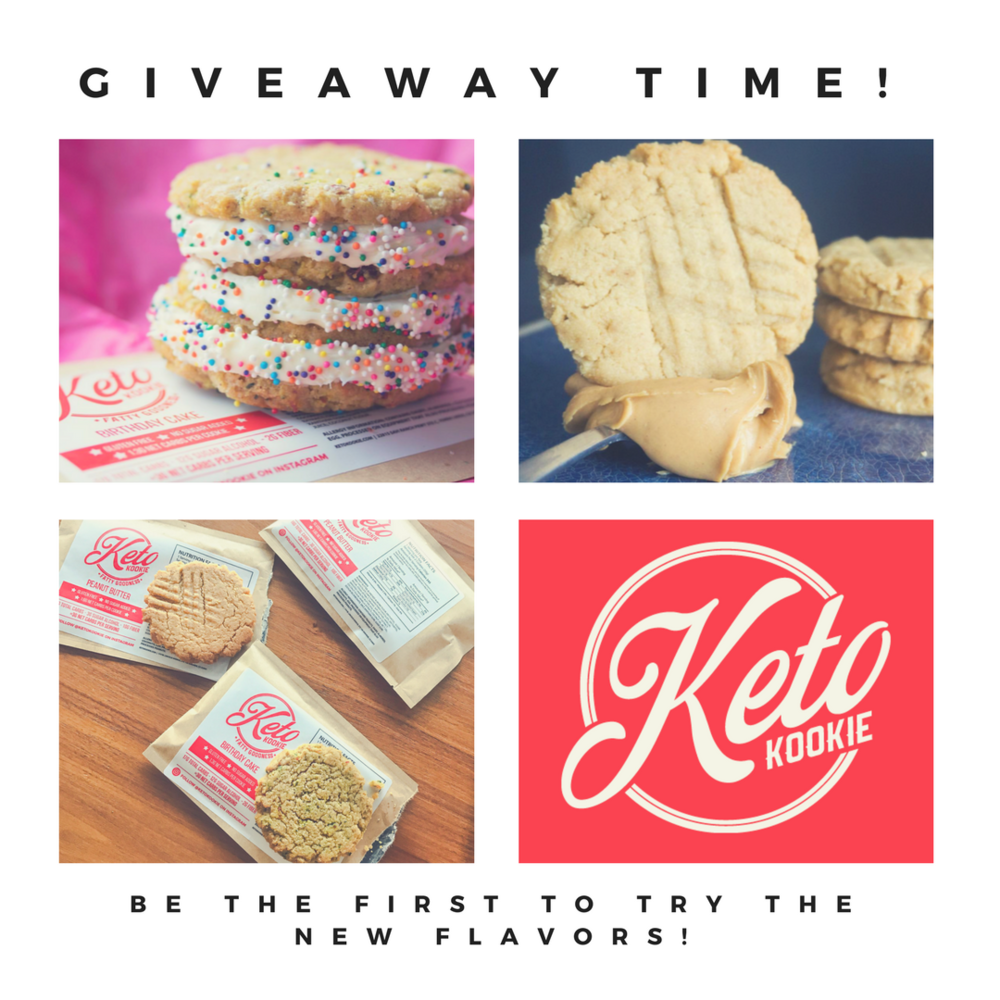 KETO IN THE CITY AND KETO KOOKIE GIVEAWAY