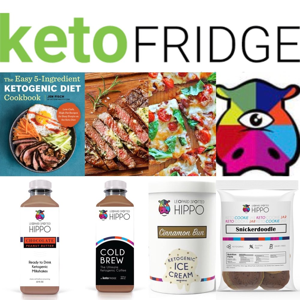 HUGE Keto Fridge and Leopard Spotted Hippo Giveaway! via Keto In The City