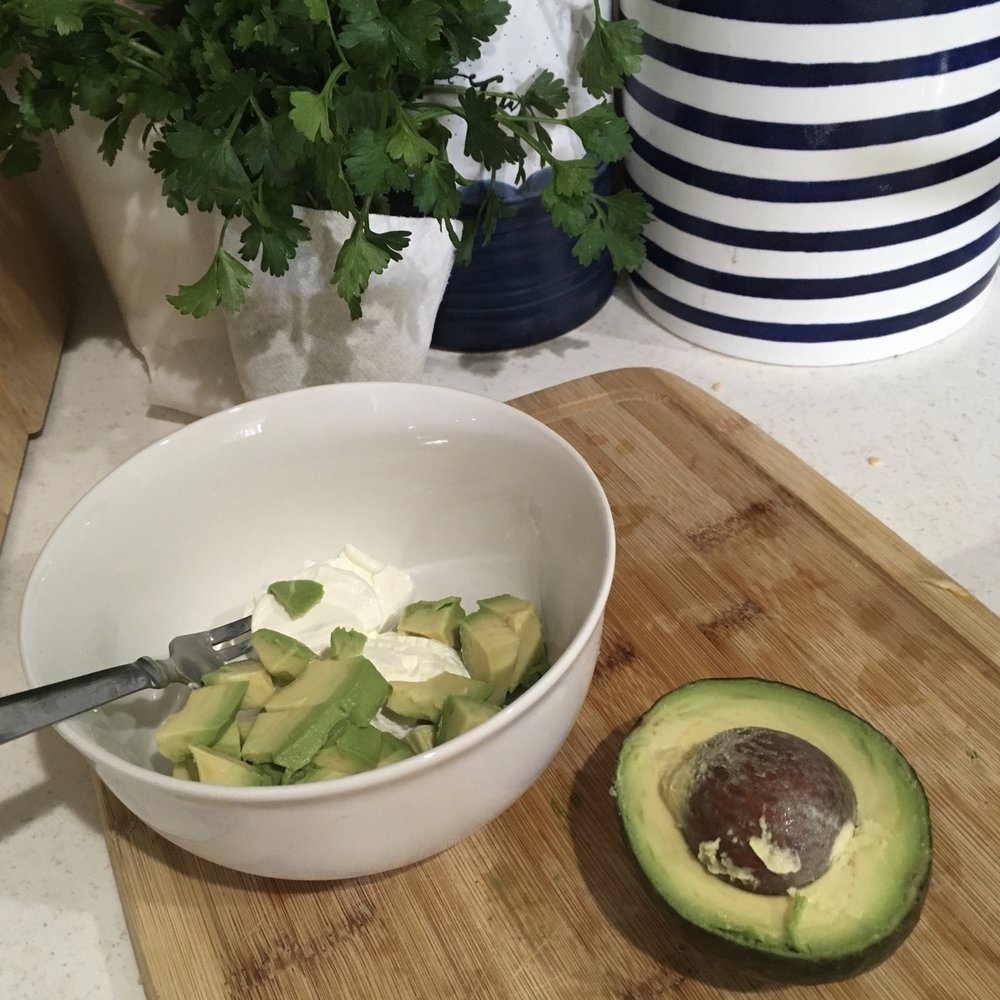 Avocado Sour Cream Keto in the City