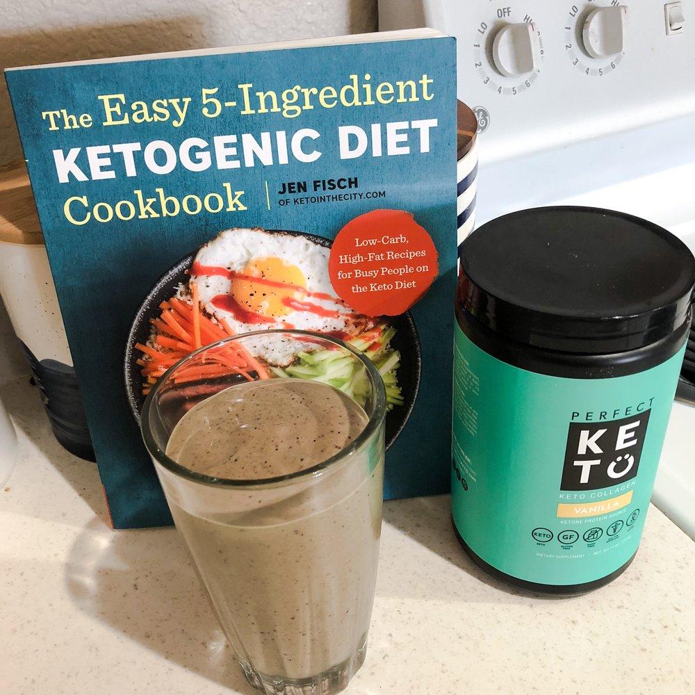 KEto Smoothie- 5 ingredients