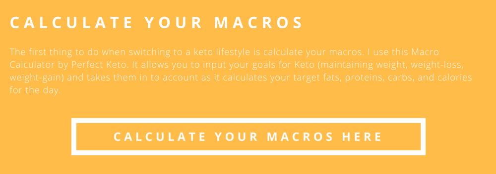 macros calculator keto in the city