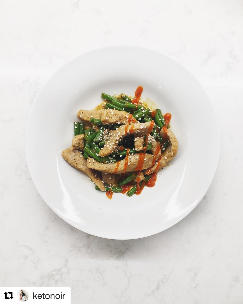 Sesame Pork and Green Beans, page 118