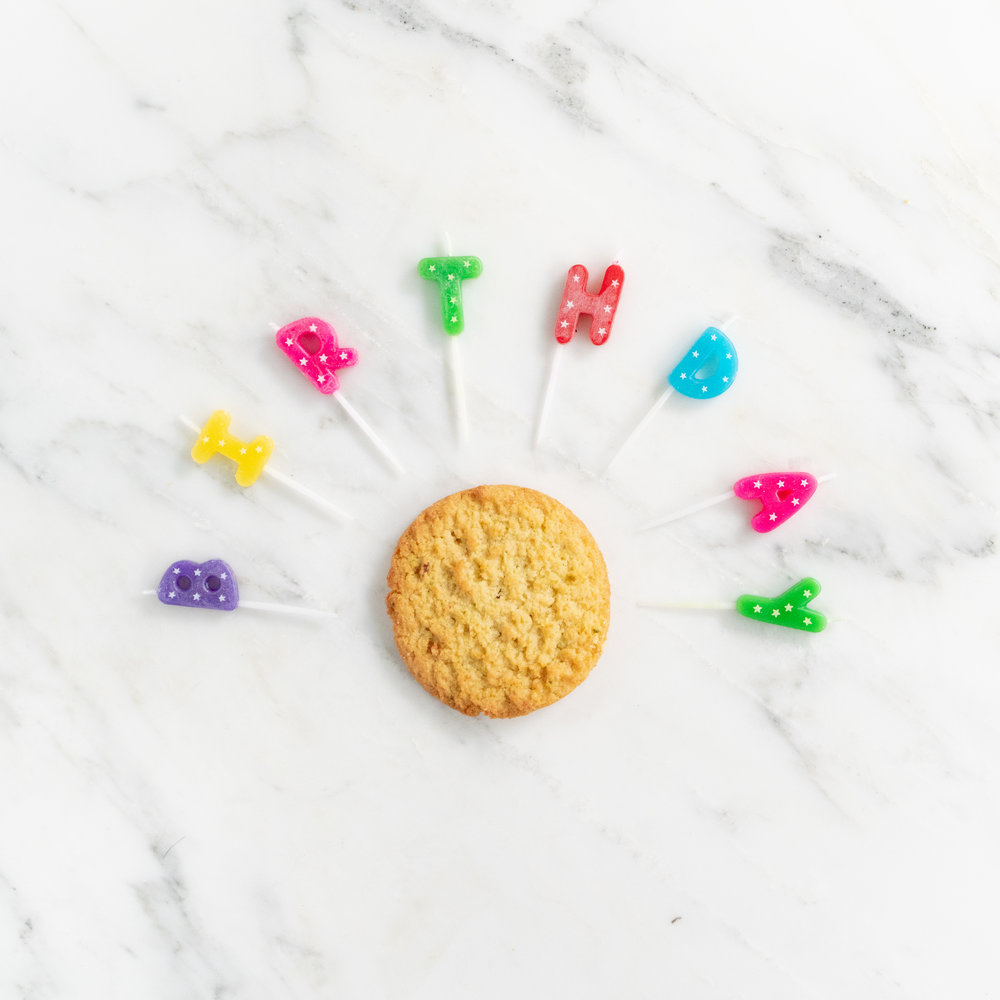 Keto cookie nui birthday