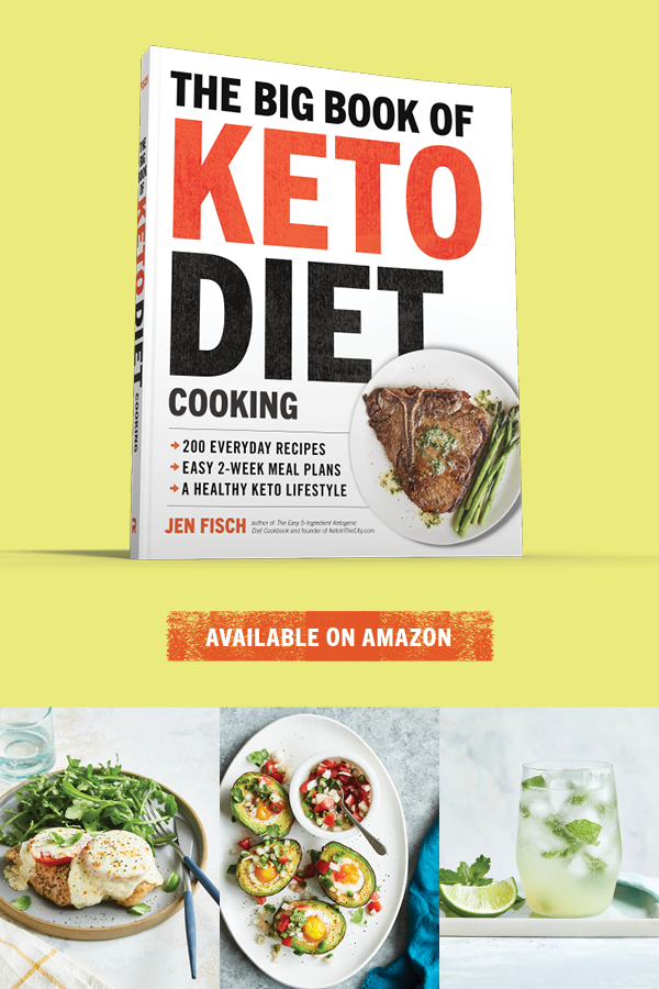 KETO recipe book ketointhecity