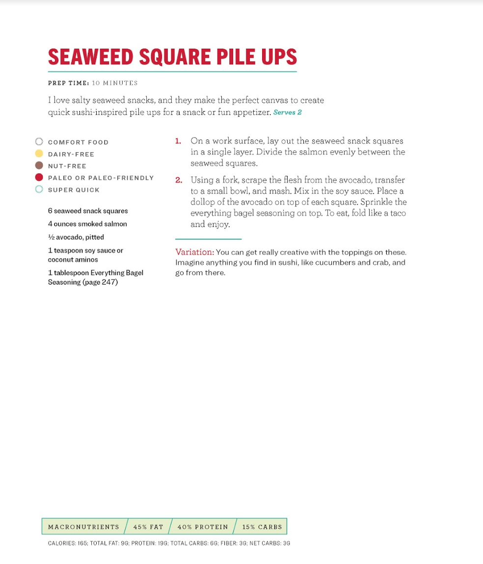 THE BIG BOOK OF KETO RECIPE: Seaweed Square Pile Ups.jpg