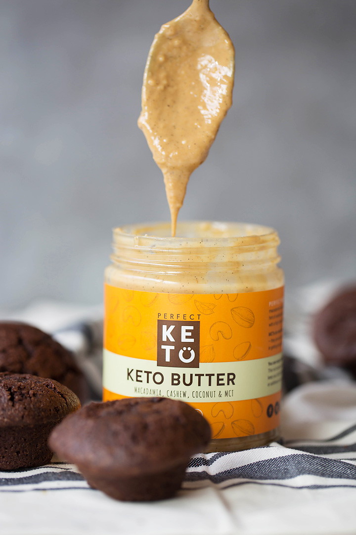 keto cupcakes and nut butter