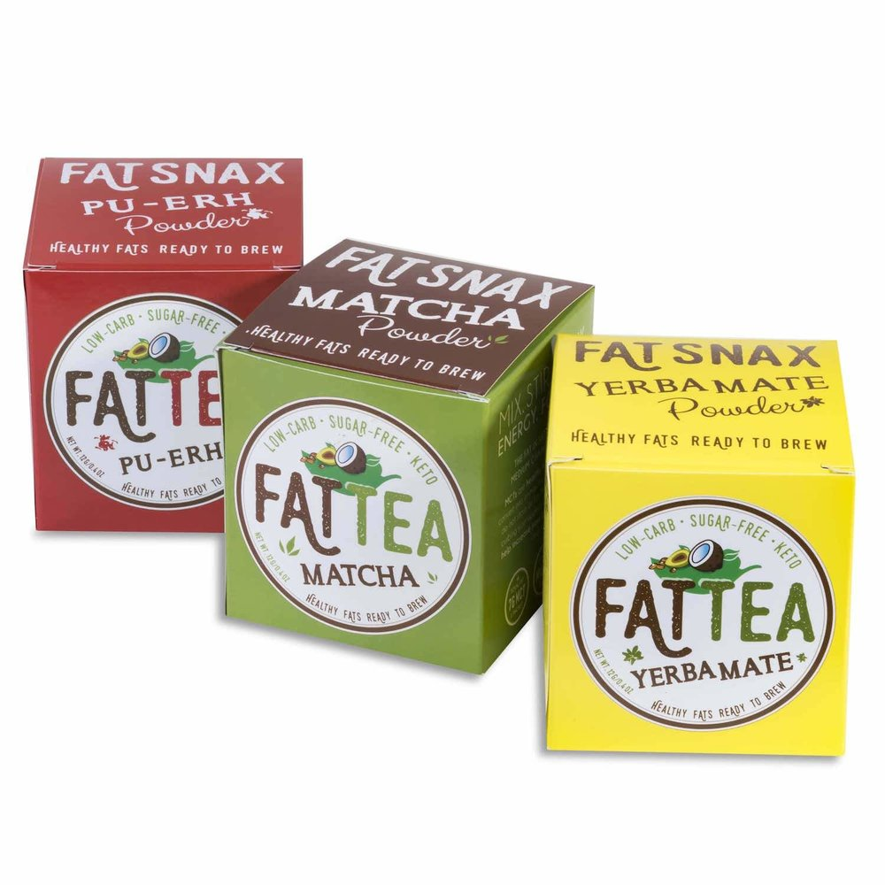 three flavors fat snax tea
