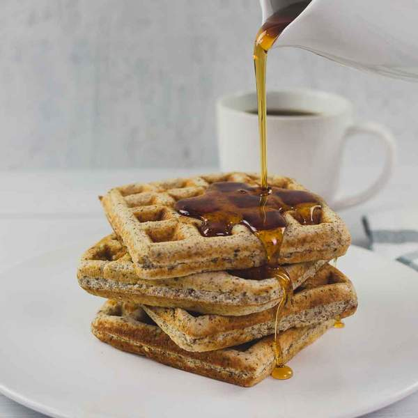 know waffles keto syrup