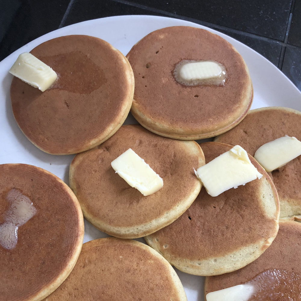 keto pancakes with butter kitc