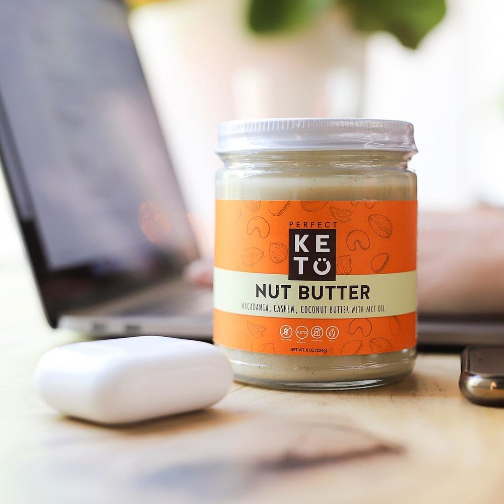 perfect keto in the city nut butter