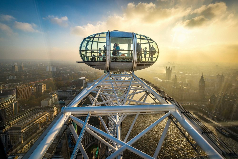 London Eye From Above
