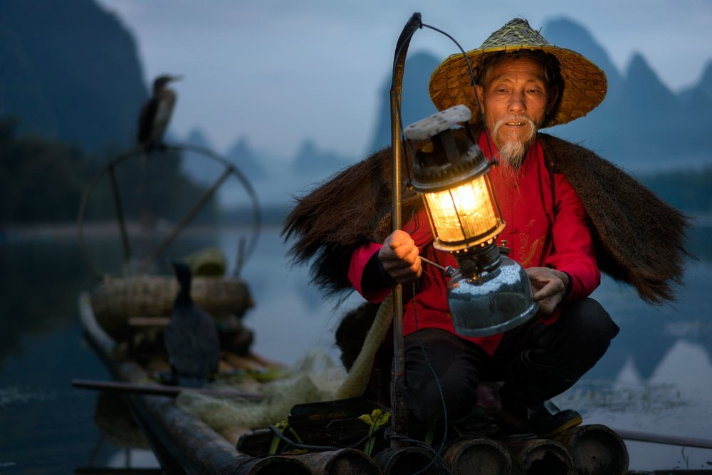 Fisherman, China