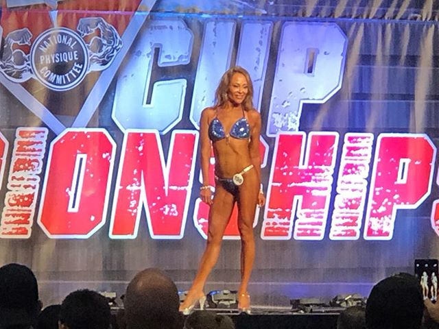 Our client @nini.bouldin doing so well!! First contest! Stuck to the process and results speak for themselves. We are so proud ❤️🙌 #npc #waco #austin #fitfam #bodybuilding #bikinicompetitor #gym #nutrition #personaltrainer