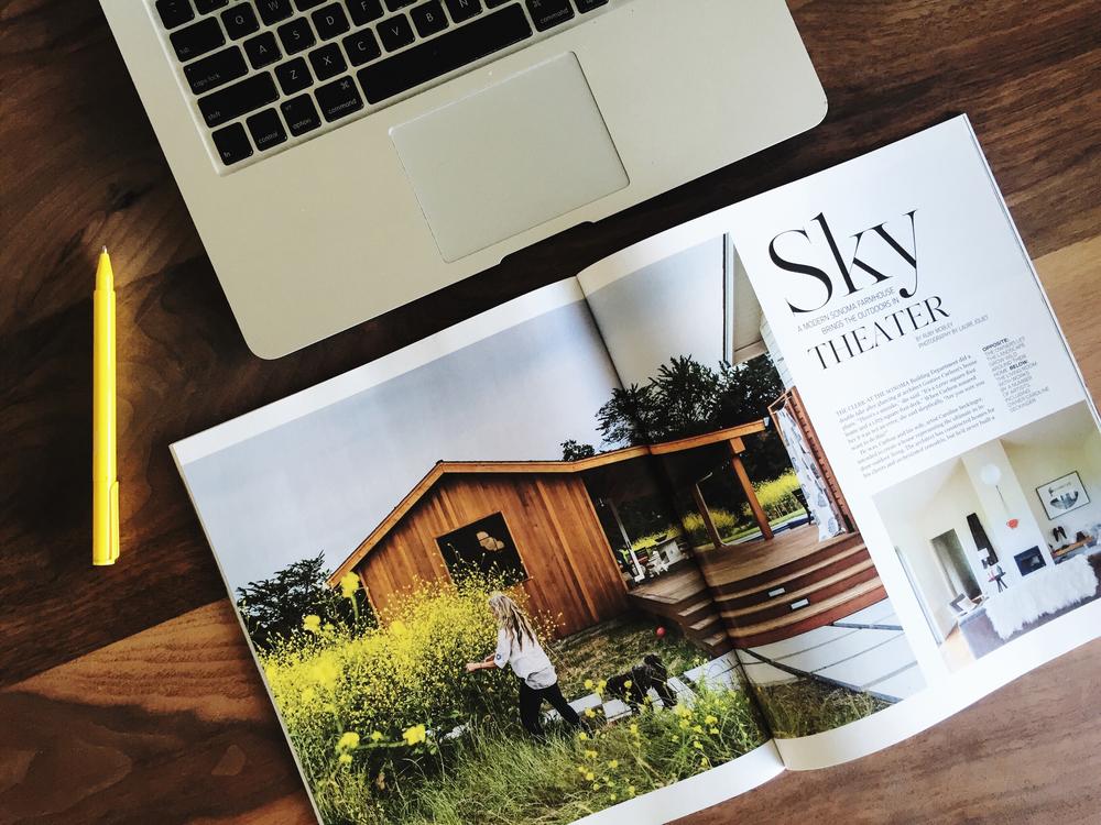 Feature story in Habitat Magazine