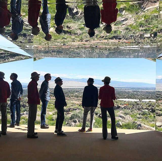 Silhouettes in Mirage, Doug Aitken's @_desertx installation