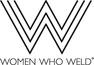 Click the logo to watch a video about Women Who Weld