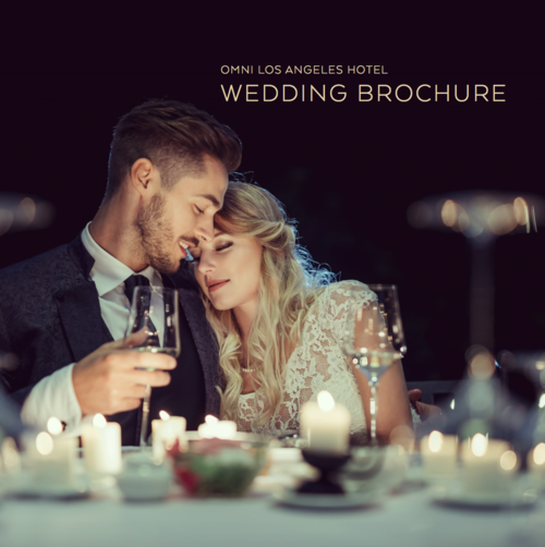 Omni Los Angeles Hotel Wedding Brochure