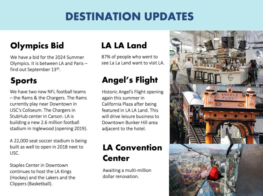 Omni Los Angeles Hotel Marketing Meeting Presentation