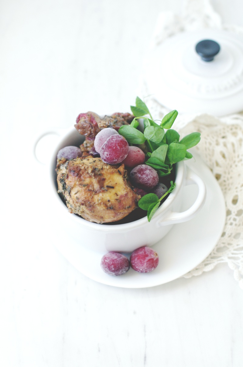 chicken and cranberries