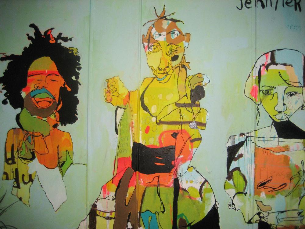 murals — Jennifer Mercede