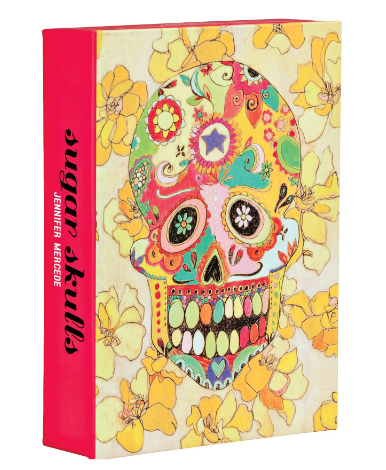 Sugar Skulls FlipTop Notecard Box