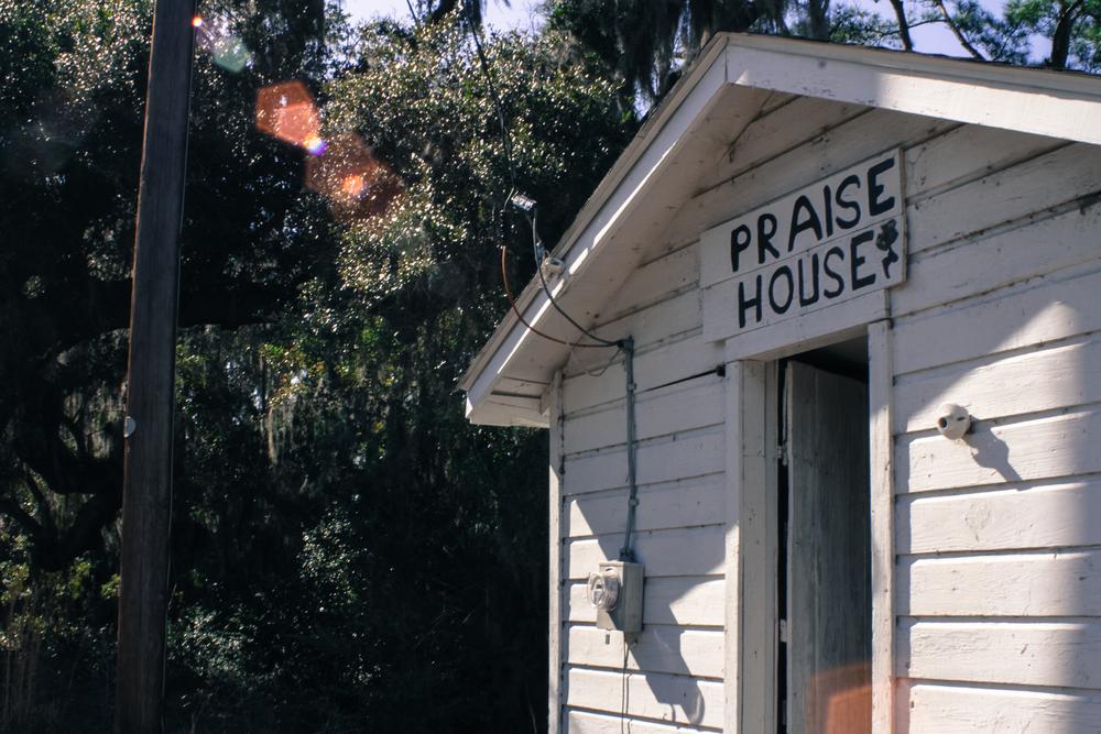 Mary Jenkins Praise House, St. Helena Island, SC
