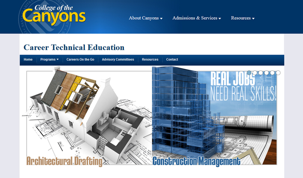 College of the Canyons | Career Technical Education