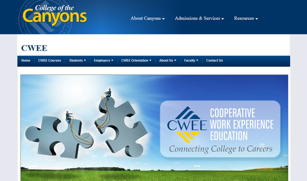 College of the Canyons | Cooperative Work Experience Education