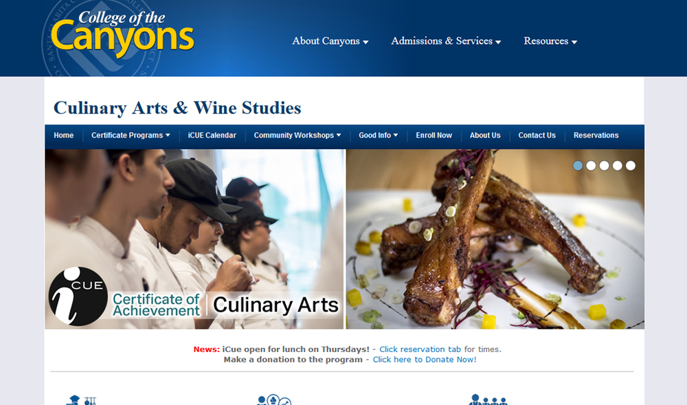 College of the Canyons | iCUE