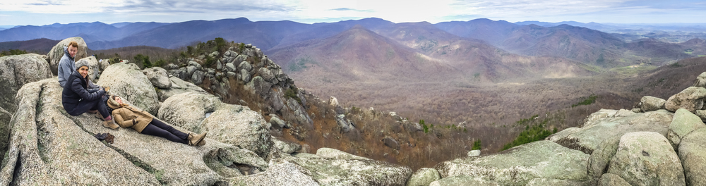 Summiting Old Rag Mountain