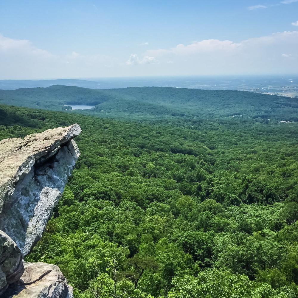 Annapolis Rock overlook