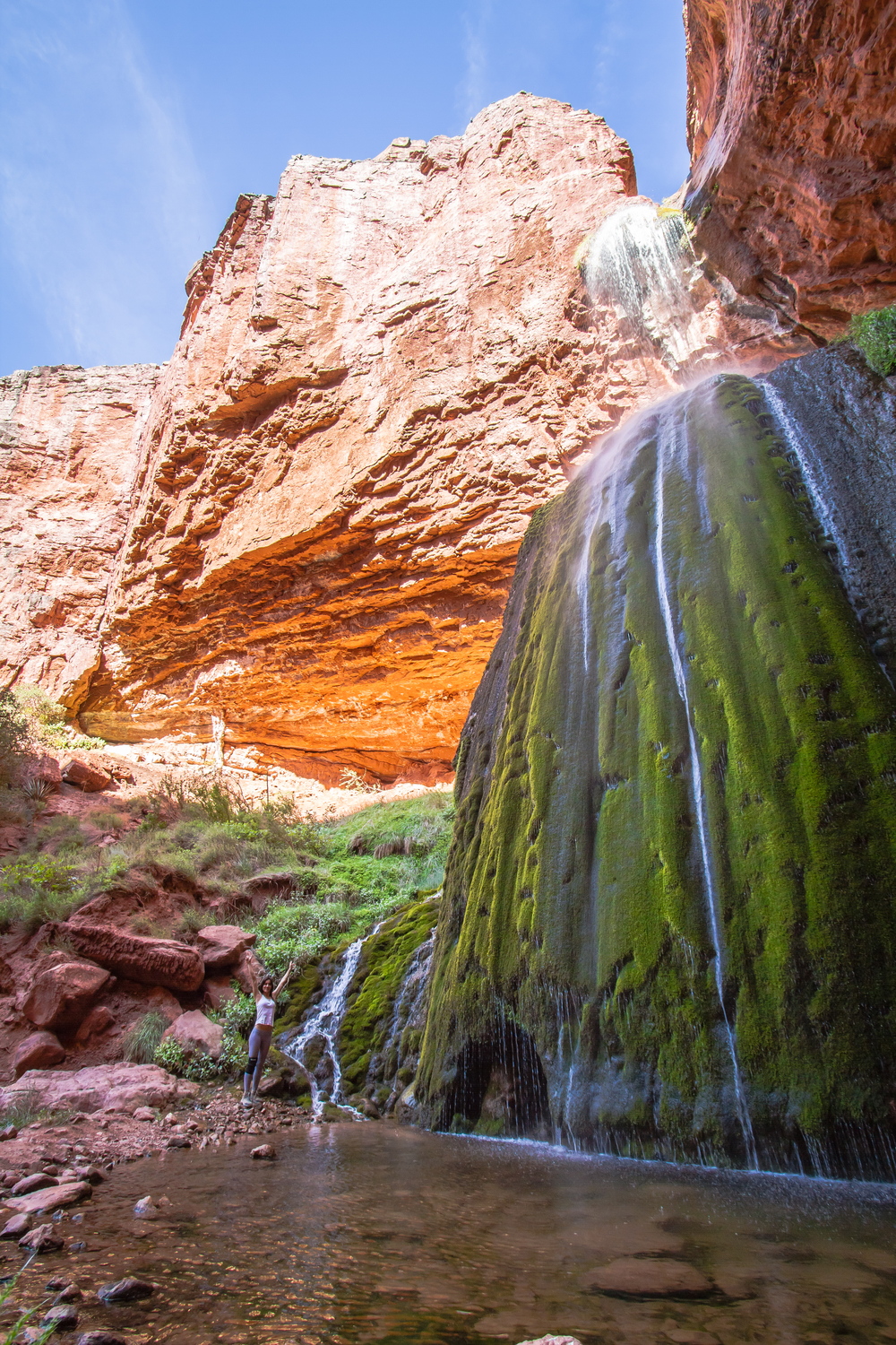 Ribbon Falls, Grand Canyon