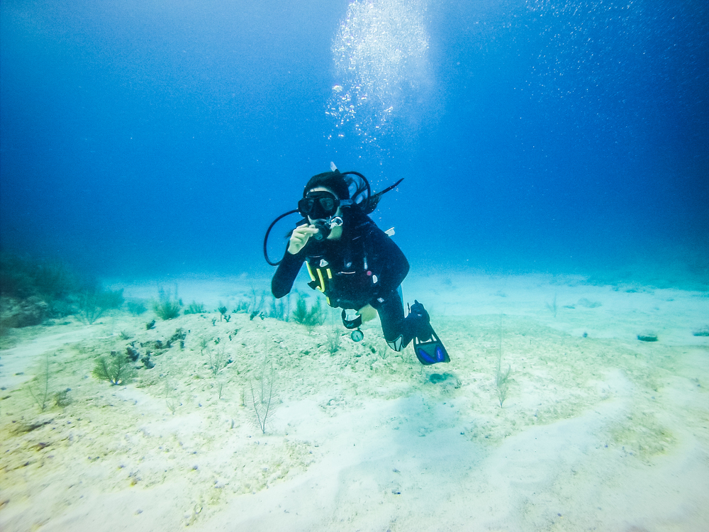 Scuba Diving in Tulum, Mexico