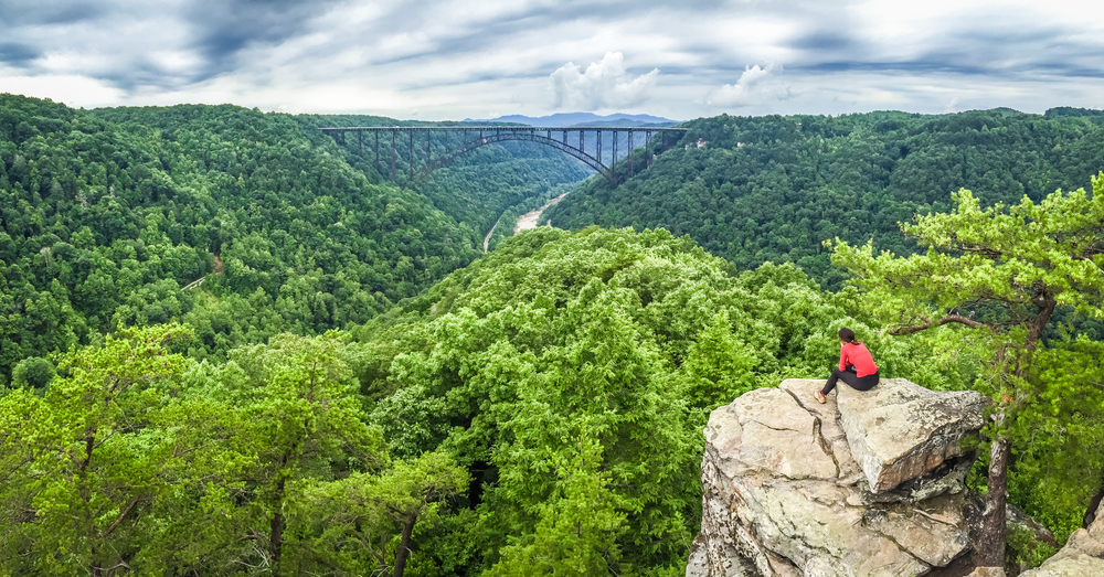 Long Point Overlook, New River Gorge, West Virginia